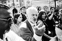 Primer Minister Hopeful (maxgor.com) Tags: maxgor maxgorcom rawstreets photojournalism olympus penf 35mm uk london westminster blackandwhite people jeremycorbyn