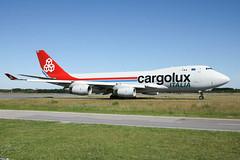 LX-RCV Boeing 747-4R7F Cargolux Italia (LXKARL) Tags: cn358074124 7474r7f luxembourgfindel boeing lxrcv ellxlux cargoluxitalia