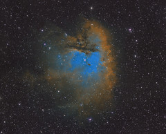 NGC 281 - The Pacman Nebula (Antoine Grelin) Tags: pacman astrophotography astronomy astrophotographie astrograph astronomie asi1600mm orion las vegas nevada galactic hunter ngc281 nebula ngc 281 astrometrydotnet:id=nova3808574 astrometrydotnet:status=solved