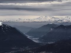 Il Lago di Lugano e il Monte Rosa (simone.mella) Tags: clouds cluody lake mountains grey dark