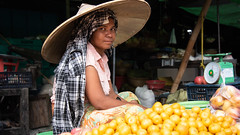 beauty of oranges (grapfapan) Tags: travel myanmar mandalay portrait woman market candid burmese
