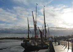 Barge Boats (suekelly52) Tags: barge boats masts maldon stuffonships