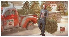 ⚡Once upon a Christmas time...🎄 (Markthedark ϟ) Tags: sl obd kalback rebellion jian christmas decor tree farm offline merch mark dark truck music blog blogger slmen second life avatar dogs marked smile pay it forward