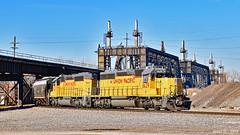 Northbound Transfer in Kansas City, MO (Grant Goertzen) Tags: up union pacific railroad railway locomotive train trains north northbound transfer freight kansas city missouri