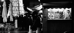 Night moves. (Baz 120) Tags: candid candidstreet candidportrait city contrast street streetphoto streetcandid streetportrait strangers rome roma a7 sony monochrome monotone mono noiretblanc bw blackandwhite urban life portrait people provoke italy italia grittystreetphotography faces decisivemoment