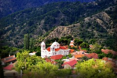 Church of Archangelos Michail, Pedoulas - Cyprus. (hanna_astephan) Tags: pedoulas cyprus mountains troodosmountains village cathedral churchofarchangelosmichail landscape forest travel tourism