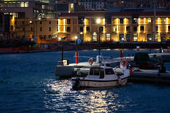 DSCF1528 (Choo_Choo_train) Tags: genova italy dark darkness seaport harbor fuji fujifilm mirrorless travel sea night sunrise ships boat