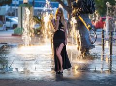Beautiful Fountain Girl Goddess in Formal Black Dress! Pretty Elegant Blonde Woman! Fuji GFX100 Fine Art Portraiture! Elliot McGucken Master Medium Format Photography dx4/dt=ic Fuji GFX 100 & Fujifilm Fujinon Gf 110mm F/2 R Wr Lm Lens for GFX MF Portraits (45SURF Hero's Odyssey Mythology Landscapes & Godde) Tags: beautiful fountain girl goddess formal black dress pretty elegant blonde woman fuji gfx100 fine art portraiture elliot mcgucken master medium format photography dx4dtic gfx 100 fujifilm fujinon gf 110mm f2 r wr lm lens for mf portraits
