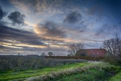 Beuningen Sunset-56 (stevefge) Tags: 2019 beuningen sunset sundown clouds wolken houses cottage fields landscape gelderland nederland netherlands nl nederlandvandaag reflectyourworld nature natuur nikon