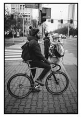 . , . , .  , . (igor_werry) Tags: xpro2 fujifilm fujinon 23mm wroclaw poland bw monochrome blackandwhite street streetphotography streets bike city
