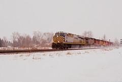 CREX  1205  ES44AC  12-31-13  Duplainville-4 (WC 6643) Tags: crex lease citi rail leasing corp duplainville dufoamville marjean lane es44ac cp canadian pacific soo line bnsf