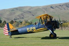 Boeing PT-17 Kaydet - ZK-KJO / 529 (1941) (johnironside65) Tags: boeing 529 pt17kaydet zkkjo stearman omaka omakaairfield