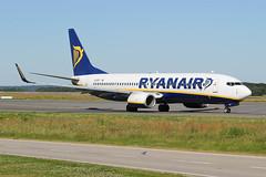 EI-EST Boeing 737-8AS(W) Ryanair (LXKARL) Tags: eiest 7378asw luxembourgfindel boeing ryanair ellxlux cn349943804