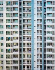 Sardines (ainz1607) Tags: tower towerblock flats buildings architecture living minimalism minimalistic highrise modern olympus neighbours urban city