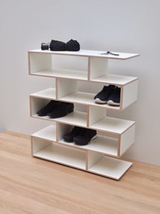 New 2019 - Shoe rack in birch / white laminate by Tidyboy (tidyboy892) Tags: shoerack shoestand shoes woodenshoerack familyshoerack handmadeshoerack handmadedesign furnituredesign homefurniture homedecorations tidyboy tidyhome