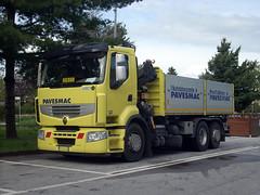 RVI Premium 450 (Actros1857LS) Tags: camion truck trucks lkw renault premium 450 tipper kipper krane kran gru autocarro