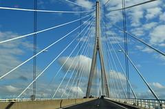 Puente de Normandía (Heleplatas) Tags: pont de normandie puente normandía honfleur sena el havre