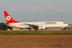 TC-JGN (PlanePixNase) Tags: eddl dus dusseldorf düsseldorf airport aircraft planespotting lohhausen turkish turkishairlines boeing 737 737800 b738