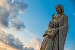 Sanctuaire national Ta' Pinu sur Gozo (uluqui) Tags: fuji fujifilm xt20 xtrans architecture religion church malte malta vacance holiday wander wanderlust light sky blue