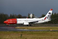 LN-NIC Boeing B737-8JP EGPH 08-12-19 (MarkP51) Tags: lnnic boeing b7378jp b737 norwegianairshuttle norwegian dy nax edinburgh airport edi egph scotland airliner aircraft airplane plane image markp51 nikon d500 nikonafp70300fx sunshine sunny