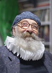 Paolo (marco monetti) Tags: portrait ritratto man uomo friend amico friendship amicizia spectacles glasses occhiali beard barba renaissance rinascimentale gentleman gentiluomo smile sorriso funny divertente nikond600 nikkorafs50mmf14g