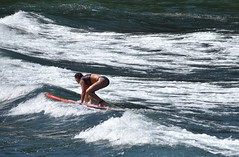 Take off (thomasgorman1) Tags: surfer woman beach surf wave waves shore island hawaii water travel surfboard watersports