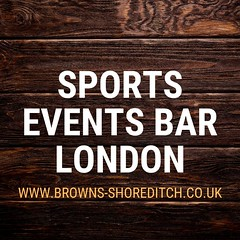 Browns Sports events bar London (brownsshoreditchclub) Tags: sports events bar london sportseventsbar sportseventslondon sportsbarlondon sportseventsbarlondon brownsshoreditch