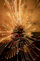 Lights (13/365) (Reckless Times) Tags: lights zoom movement tree light inddor indoor christmas decoration 365 project nikon d750 tamrom tamron lens