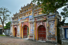 Hue - Imperial City (simone_a13) Tags: vietnam hue historic colour arch gate unescoworldheritagesite