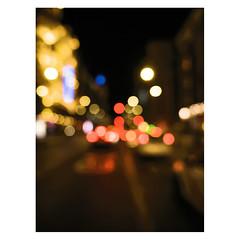 Lights, Gran Via, Madrid (Daniel Philipona) Tags: night gran via madrid mastin labs portra