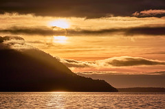 Sunset,Brunswick Beach, Howe Sound (martincarlisle) Tags: sunset brunswickbeach howesound britishcolumbia canada sunsets water clouds islands inlets fjord sun canonm6mirrorless captureonepro20 tkactionsv7 light