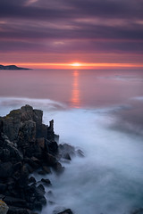 Punta Faxilda (jojesari) Tags: puntafaxilda puntaestofallas puestadesol solpor sunset atardecer ocaso jojesari longexposure largaexposición filtros filter nisifilters haida