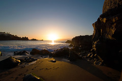 Sunset - Playa la Arena (TheKtulu) Tags: sunset ocean playa la arena rocks