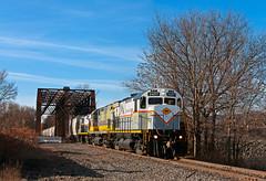 Departing Green Ridge (Erie Limited) Tags: delawarelackawanna dl2457 alco c425 scrantonpa train railfan railroad greenridge