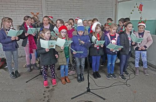 School choir at Hawkhurst Festival