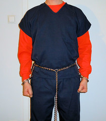 Peerless 7705 full harness (rainer/zufall) Tags: handcuffs inmate prisoner restraints shackles chains bellychains