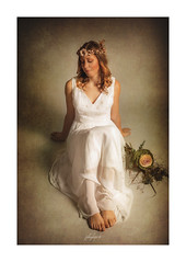 Bride (fotobagaluten.de) Tags: bride wedding braut hochzeit vintage portrait porträt woman frau brautkleid dress