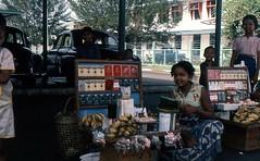 Strassenkiosk in Rangun (walter 7.8.1956) Tags: asien myanmar burma rangun menschen