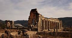 Roman ruins of volubilis (JLM62380) Tags: roman romain ruins paysage moulay idriss volubilis maroc morocco village afrique africa landscape architecture