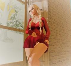 Christmas Dreamin (cidni1) Tags: legs model virtual secondlife boots erotica world life sensual woman girl erotic hot ass curves sl pose sexy