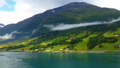 Olden - Norway (abrideu) Tags: abrideu landscape olden norway mountains fjord clouds water