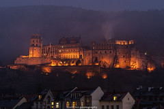 Illuminated Heidelberg Castle in December 2019 (boettcher.photography) Tags: heidelberg deutschland germany badenwürttemberg dezember december evening abend 2019 schloss castle schlossheidelberg heidelbergcastle altstadt heidelbergaltstadt oldtown oldtownofheidelberg langzeitaufnahme longexposure illuminated beleuchtet sashahasha boettcherphotography boettcherphotos