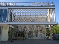 Café Moskau, Karl-Marx Allee, Berlin (Yvette G.) Tags: berlin architecture allemagne berlinest architecturestalinienne café restaurant cafémoskau