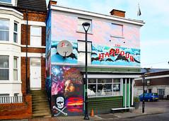 NEW BRIGHTON MURALS SERIES # 18 : HARBOUR PUB. (tommypatto : ~ IMAGINE.) Tags: newbrighton merseyside streetart murals pirates