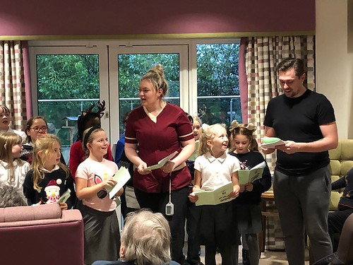 Young Voices Choir at Hawkhurst House