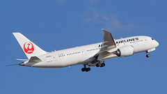 Boeing 787-8, JA846J, Japan Airlines (tkosada.mac) Tags: sonyalpha ilca77m2 japanairlines oneworld dreamliner boeing b788 tokyointernationalairport hanedaairport hnd rjtt