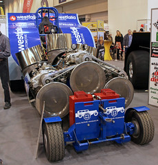 Iwan (Schwanzus_Longus) Tags: essen motorshow german germany jet powered turbine engine tractor pull pulling