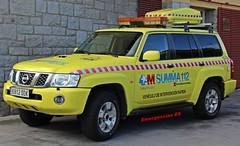 SUMMA 112 (emergenciases) Tags: emergencias españa 112 comunidaddemadrid guadarrama simulacro vehículo vir vehículodeintervenciónrápida sanitarios summa112 nissan nissanpatrol patrol
