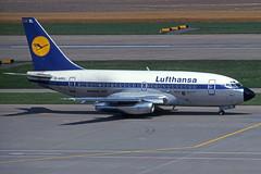 D-ABEL (Lufthansa) (Steelhead 2010) Tags: lufthansa boeing b737 b737100 zrh dreg dabel