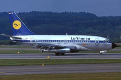 D-ABEP (Lufthansa) (Steelhead 2010) Tags: lufthansa boeing b737 b737100 zrh dreg dabep